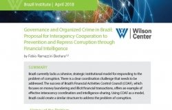 POLICY BRIEF | Governance and Organized Crime in Brazil: Proposal for Interagency Cooperation to Prevent and Repress Corruption through Financial Intelligence