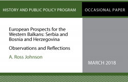 European Prospects for the Western Balkans: Serbia and Bosnia and Herzegovina