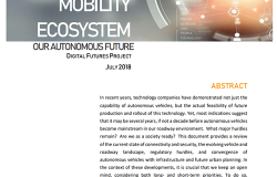 The Changing Mobility Ecosystem: Our Autonomous Future