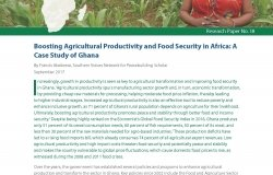 Budgeting for Productivity and Food Security: How Smart Public Spending Can Boost Agricultural Productivity in Ghana