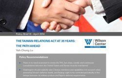 The Taiwan Relations Act at 35 Years: The Path Ahead