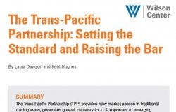 The Trans-Pacific Partnership: Setting the Standard and Raising the Bar