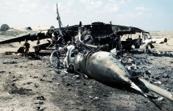 Iraqi MiG-29 shot down during Operation Desert Storm