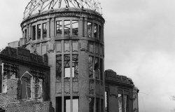 A-Bomb Dome, Hiroshima, Hiroshima Prefecture, Japan.