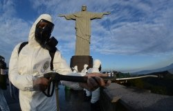 Disinfection of Christ the Redeemer