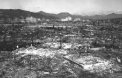 War Department Photograph of Hiroshima after Atomic Bomb
