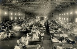 1918 Influenza Emergency Hospital in Kansas