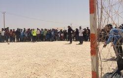Football Tournament at Zaatari Refugee Camp