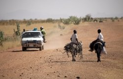 United Nations Peacekeepers Protect Children in Rural Areas of Darfur