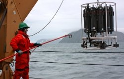 Retrieving the CTD:Rosette