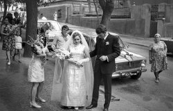 Wedding in Rostov-on-Don, Soviet Union, USSR.