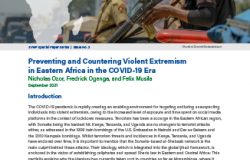 Eastern African Violence COVID SVNP Publication Cover