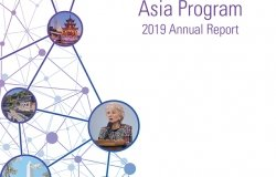 Asia Program 2019 Annual Report Cover