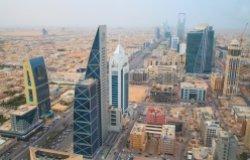 Aerial View Riyadh
