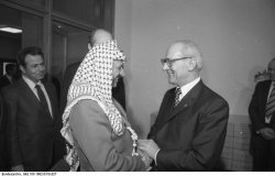 Honecker and Arafat