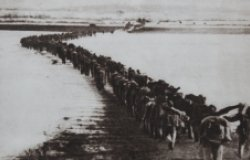 Chinese Troops Cross the Yalu River, 1950