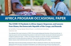 The COVID-19 Pandemic in Africa