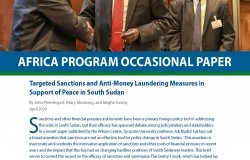 Targeted Sanctions and Anti-Money Laundering Measures in Support of Peace in South Sudan