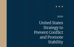 Cover of the United States Strategy to Prevent Conflict and Promote Stability