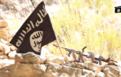 ISIS Flag Khurasan September 2020 video