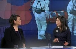 Jean Lee appears on VOA Korea