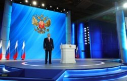 Vladimir Putin's Presidential Address to the Federal Assembly.