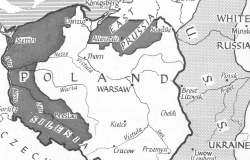 Map of Poland, 1939-1945