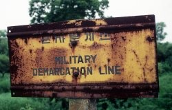 Military Demarcation Line (MDL) at Panmunjom