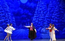 Scene from The Nutcracker ballet performed by the New Mexico Dance Theater in 2014.