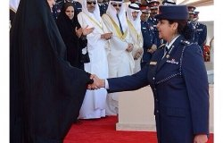 Women Police Force in Bahrain Ceremony