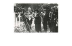 Wilson at Suresnes, 1919