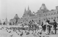 Image: Early 1900s Red Square in Moscow