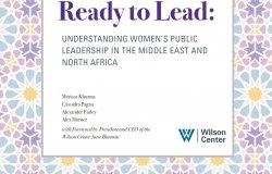Ready to Lead: Understanding Women's Public Leadership in the Middle East and North Africa