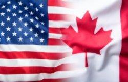 Canada-US Flag