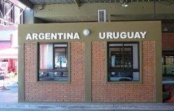 Border Argentina/Uruguay