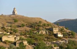Village of Karaglukh in the Hadrut Province of Nagorno-Karabakh, John the Baptist Church