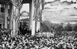 Wilson accepting nomination, 1916