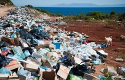 Plastic Pollution Pile