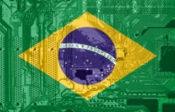 Brazil Flag Circuit Board Technology