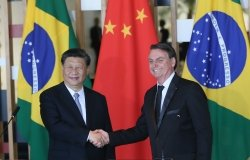 President Jair Bolsonaro receives President Xi Jinping