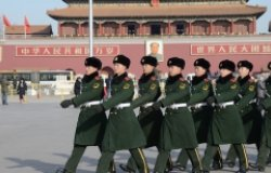 Soldiers in China