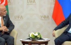 Meeting of Russian President Vladimir Putin and President of Afghanistan Ashraf Ghani