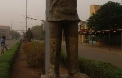 Image: Statue of Ousmane Sembène