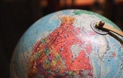 Canada-U.S. Globe