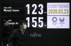 Countdown Clock to Tokyo Olympics