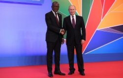 Image: Reception in honour of participants in the Russia-Africa summit