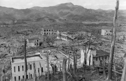 Ruins Nagasaki Japan After Atomic Bombing