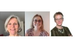 Photos of Anneka Knutsson, Andrea Nove, Franka Cadée