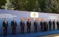 Meeting of the Supreme Eurasian Economic Council in Yerevan, Armenia (October, 2019; photo: en.kremlin.ru)