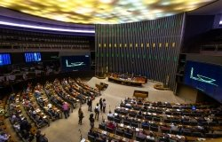 Chamber of Deputies Plenary at Brazilian National Congress